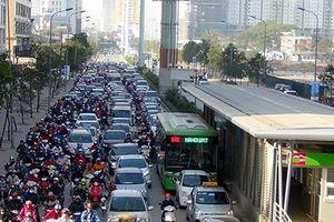Hà Nội phát sinh thêm gần 10 điểm ùn tắc giao thông nghiêm trọng
