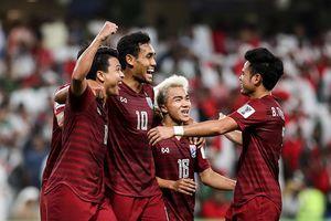 Thái Lan đối đầu Trung Quốc tại vòng 1/8 Asian Cup 2019