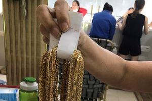 Công an Quảng Nam điều tra nguồn gốc 230 lượng vàng bị tiêu thụ trái phép