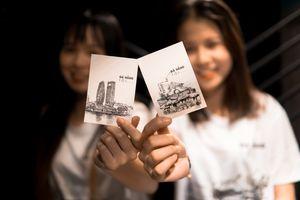 Ấm lòng chuyện sinh viên Đà Nẵng bán nét vẽ - mua sẻ chia cho người nghèo dịp Tết