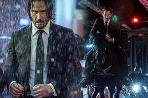 Keanu Reeves trong trailer đầu tiên của 'John Wick: Chapter 3 - Parabellum' chạy trối chết như đang chơi 'Running Man'