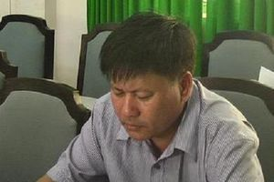 Đồng Tháp: Khởi tố, bắt tạm giam guyên giám đốc Trung tâm phát triển quỹ đất huyện