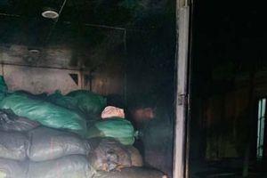 Thanh Hóa: Bắt vụ vận chuyển 1,7 tấn bì lợn từ tỉnh Nam Định về Thanh Hóa