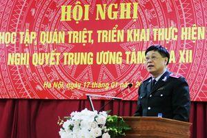 Thanh tra Chính phủ học tập, quán triệt Nghị quyết Trung ương 8
