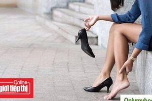 Biện pháp làm dịu cơn đau gót chân