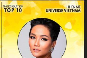 H'Hen Niê dẫn đầu Top 10 người đẹp nhất Thế giới