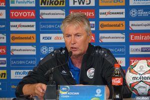 HLV Jan Kocian: Thất bại 0-2 trước Việt Nam là điều tôi không nghĩ tới