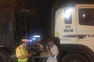 CSGT TP HCM kiểm tra tài xế sử dụng ma túy, rượu bia