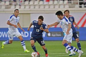 Ngược dòng trước Uzbekistan, Nhật Bản xếp nhất bảng F sau vòng bảng