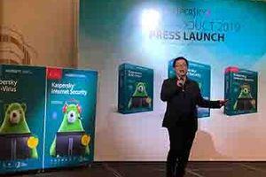 Kaspersky 'phát pháo' thị trường phần mềm diệt virus 2019 tại Việt Nam