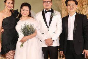 Thanh Hằng đăng ảnh đám cưới em gái Hà Anh Tuấn, dân tình lại được phen nhao nhao hỏi khó