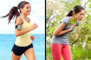 Đừng để chạy bộ gây tổn hại cho sức khỏe vì những sai lầm sau