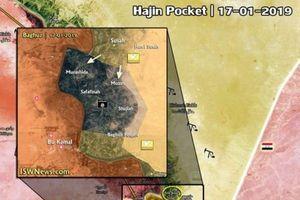 IS chịu thất bại thảm hại sau khi để mất thành trì lớn cuối cùng ở đông Euphrates