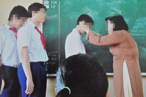 Thái Nguyên: Phụ huynh tố cô giáo phạt một số học sinh tự tát 50 cái vào mặt