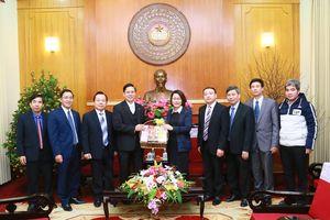 Hội Thánh Tin lành Việt Nam (miền Bắc) chúc Tết Mặt trận Trung ương