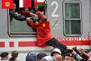 Loạt ảnh chế hài hước của dân mạng sau khi tuyển Việt Nam 'lách qua khe cửa hẹp'
