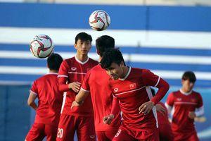 Đội tuyển Việt Nam hứng khởi trước trận gặp Jordan