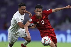 Asian Cup 2019: Jordan vượt mặt tuyển Việt Nam trên bảng xếp hạng FIFA