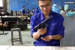 Sức mạnh súng K-14 Việt Nam sản xuất
