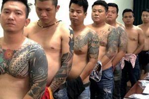 Công an khởi tố, bắt tạm giam nhóm giang hồ Vũ 'Bông Hồng'