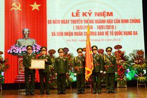 Cục Hậu cần Binh chủng Công binh đón nhận Huân chương Bảo vệ Tổ quốc hạng Ba