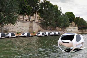Trải nghiệm thú vị taxi bay ở Paris hoa lệ