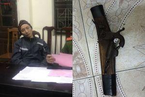 Quảng Ninh: Cầm súng tự chế, ép nhân viên ngân hàng chuyển 1 tỷ đồng vào tài khoản