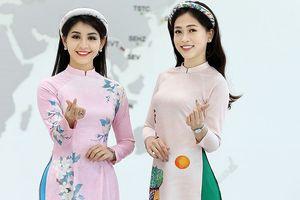Á hậu Phương Nga, người đẹp Lê Thanh Tú 'đọ sắc' với áo dài khăn đóng