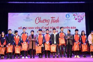 Tiếp sức sinh viên nghèo về quê đón Tết