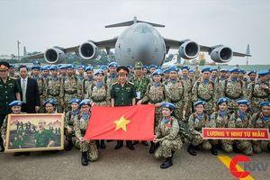 Ảnh lực lượng gìn giữ hòa bình Việt Nam giành giải đặc biệt