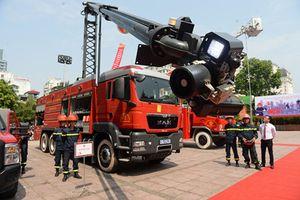 Sẽ có thêm 81 xe chữa cháy hiện đại