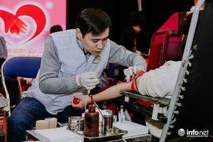 Đoàn Thanh niên Bộ TT&TT hưởng ứng hiến máu Xuân tình nguyện