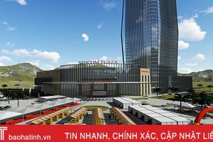 3D không gian Hội chợ Xuân Kỷ Hợi tại Vincom Plaza Hà Tĩnh