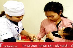Sau tết, Hà Tĩnh tiêm vắc-xin ComBE Five trên toàn tỉnh