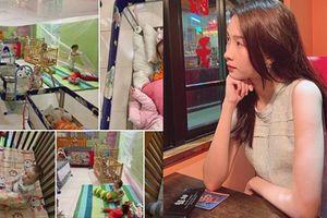 Không bánh kem hay hoa hồng lãng mạn, Đặng Thu Thảo đón sinh nhật bình yên bên ông xã tại trung tâm bảo trợ trẻ em