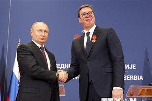 Nga-Serbia tăng cường mối quan hệ đối tác chiến lược