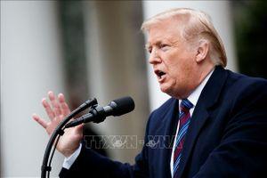 Tổng thống Mỹ hủy kế hoạch tham dự Diễn đàn Kinh tế thế giới Davos