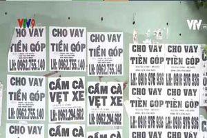 Bình Thuận: Lập tổ liên ngành xử lý việc dán tờ rơi cho vay nặng lãi