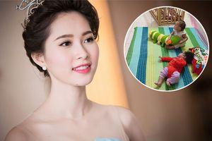 Vợ chồng Hoa hậu Đặng Thu Thảo làm điều ấm áp này thay cho việc tổ chức sinh nhật hoành tráng
