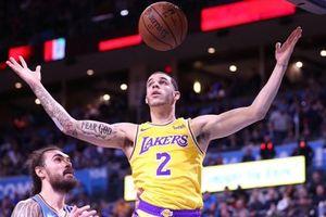 Lonzo Ball chứng minh tài năng, Lakers thắng quả cảm trước OKC