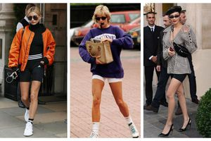 Hot trend 2019, quần short từ thời Công nương Diana 'càn quét' mọi mặt trận