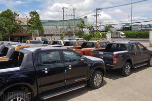 Xe bán tải tại Việt Nam 2018: Chật vật vì thiếu nguồn cung