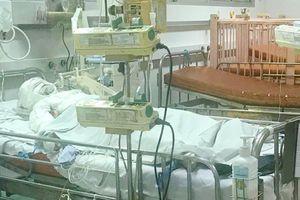 Hai cha con bỏng nặng do bình gas phát nổ