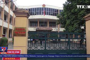 Phiên tòa xét xử vụ sự cố y khoa tại Bệnh viện đa khoa tỉnh Hòa Bình