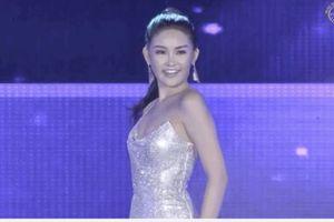Catwalk quá điệu đà,diện đồ hớ hênh, Ngân Anh mất điểm tại Miss Intercontinental