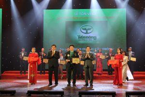 Tiến Nông tự hào 4 năm liên tiếp được vinh danh sản phẩm nông nghiệp Việt Nam tiêu biểu