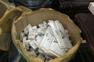 Bắt 1.800 gói thuốc lá lậu tiêu thụ dịp Tết