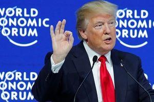 Tổng thống Mỹ quyết không tham dự Diễn đàn kinh tế thế giới