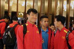 Asian Cup 2019: Tuyển Việt Nam đến Dubai, chuẩn bị đấu Jordan
