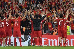 16 đội vòng loại trực tiếp Asian Cup 2019